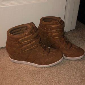 Just fab sneaker wedges